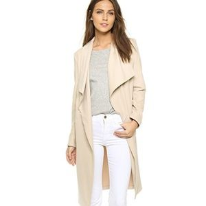Cupcakes and Cashmere Laswell twill trench coat S